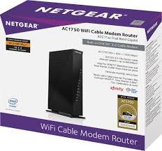 netgear ac1750 dual band router with docsis 3 0 cable modem multi