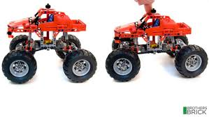 technic 42005 monster truck review brothers brick