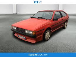 volkswagen scirocco 1989 nancy auction of 27 december 2017 alcopa auction