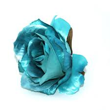turquoise roses metallic turquoise artificial flowers silk roses pre