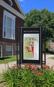 St Paul Campus Map Macalester College Exterior Wayfinding Saint Paul Minnesota
