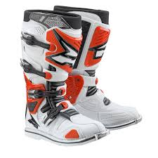 red dirt bike boots a2 boots