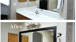 Bathroom Mirror Frames Kits Mirror Trim Kits Tushargupta Me