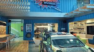 hoonigan porsche wallpaper take a tour of ken block u0027s hoonigan racing garage with andreas