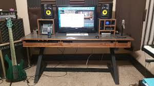 Studio Computer Desk by Music Studio Desk Youtube