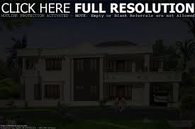 modern luxury villa design kerala home and floor plans with