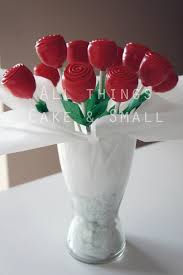 red rose cake pop bouquet cake pops pinterest cake pop