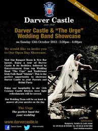 the urge wedding band darver castle open day talk of the town