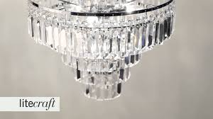vasca crystal bar bathroom chandelier litecraft lighting your