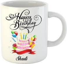 muggies magic shruti name design ceramic mug price in india buy