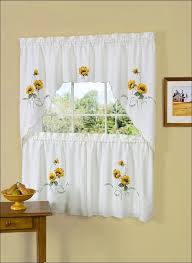 Short Curtains Kitchen Bay Window Curtains Country Style Kitchen Curtains