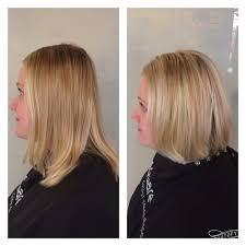 cut and inch off hair in addition to cutting 3 inches off we lightened up her natural