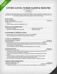 Resume Samples For Professionals by Entry Level Nurse Resume Template Free Downloadable Resume