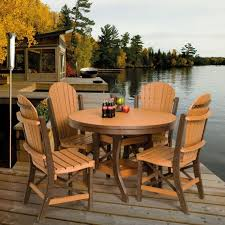 fancy polywood outdoor dining set outdoor furniture sets vermont
