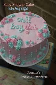 joanne u0027s trails u0026 pursuits baby shower cake twins boy u0026