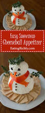 christmas cheeseball snowman recipe the o u0027jays appetizer