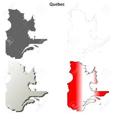Blank Map Of Canada Provinces And Territories by Quebec Province Blank Vector Outline Map Set Royalty Free Cliparts