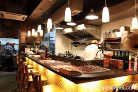 kitchen endearing restaurant open kitchen concept design