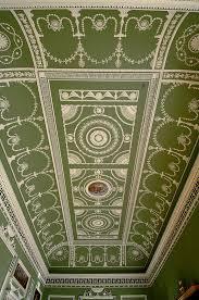 plaster ceiling robert adam headfort house patrick baty