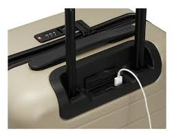 End Table Charging Station by Luggage Sets Away