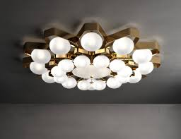Italian Ceiling Lights Nella Vetrina Ital Teo 2392 Luxury Italian Ceiling Light In Grey