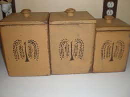 primitive kitchen canister sets country kitchen canisters shop molasses canister set i want