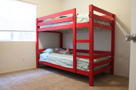Ana White Crib Size Mattress Toddler Bunk Beds Diy Projects by Ana White Build A Classic Bunk Beds Free And Easy Diy Project