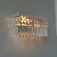 Modern Wall Lights For Bedroom - modern crystal wall lamp bedroom bedside lamp aisle corridor wall