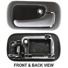 amazon com honda civic 92 95 front door handle right inside