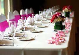Wedding Table Setting Wedding Table Setting Sample Photographs