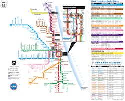Chicago Neighborhood Map Poster by Metro De Chicago Chicago Subway Infografia Infographic Maps