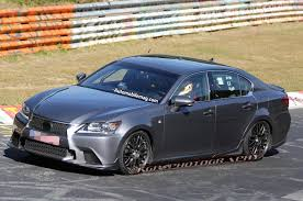 lexus gs prices reviews and 2015 lexus gs f spied lapping the u0027ring