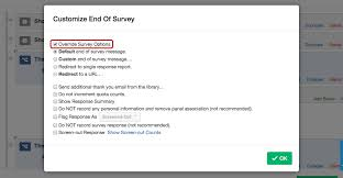 letter of termination of services end of survey element qualtrics support