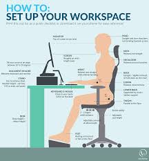 set up your ideal ergonomic workspace in 6 simple steps