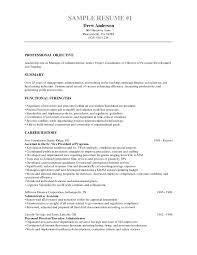 Sample Objectives On Resume by Resume Objectives 46 Free Sample Example Format Download Linux