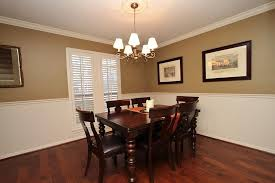 Two Tone Walls With Chair Rail Dining Room Colors With Chair Rail Gen4congress Com