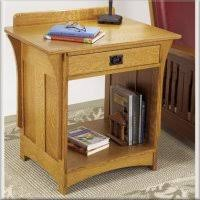 Mission Style Nightstand Mission Arts U0026 Crafts Furniture Woodworking Plans I