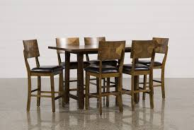 hutton 7 piece counter set living spaces