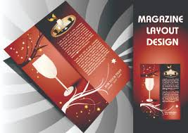 magazine pages and cover layout design vector 02 vector cover