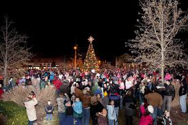 clayton tree lighting 2017 christmas events in clayton tree lighting christmas village