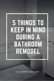 5 things keep in mind during a bathroom remodel teodoro