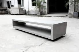 Concrete Table And Benches Monobloc U2013 Tv Bench Lyon Béton