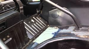 fox mustang interior restoration 87 89 ford mustang black interior rear seat belt install