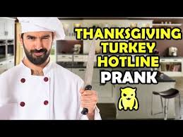 thanksgiving turkey hotline prank ownage pranks