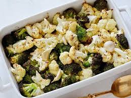 roasted cauliflower and broccoli recipe ellie krieger food network