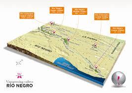 Patagonia Map Argentina Wines Of Argentina