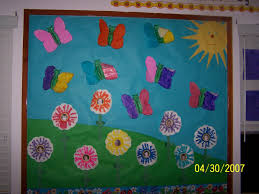 wall decoration ideas from waste material housetracker org wall decoration ideas for preschool