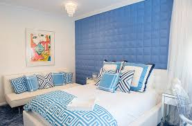 Blue And White Interiors Living Rooms Kitchens Bedrooms And More - Blue and white bedroom designs