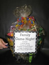 40 diy gift basket ideas for christmas family game night family