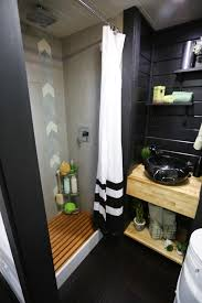 black bathroom photos hgtv spa like from hgtvs tiny luxury loversiq